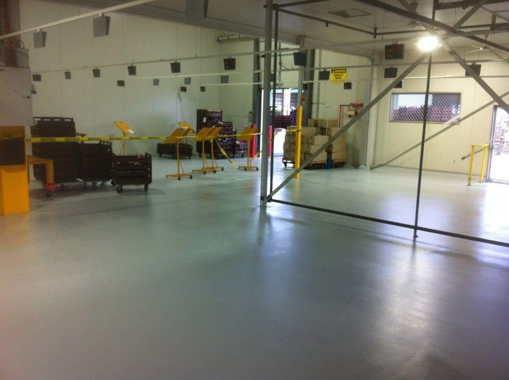 Epoxy floor finishes concrete grinding for Concrete flooring service